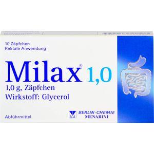 MILAX 1,0 Suppositorien