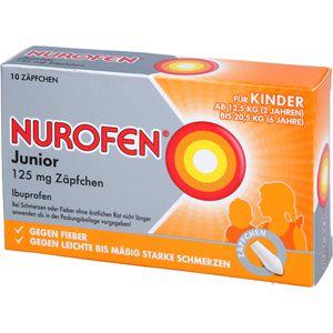 NUROFEN Junior 125 mg Zäpfchen