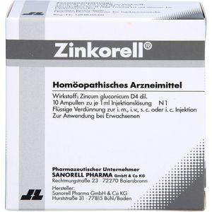 ZINKORELL Ampullen