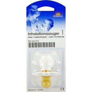 SAUGER Inhalation klein 104885 weiß Kieferor.