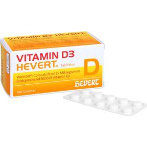 VITAMIN D3 HEVERT Tabletten