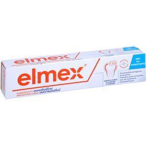 ELMEX mentholfrei Zahnpasta m.Faltschachtel