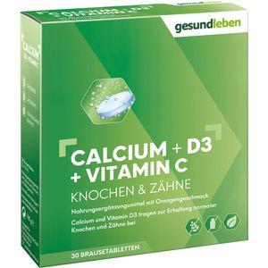 GESUND LEBEN Calcium 800 mg+D3+Vitamin C Br.-Tabl.