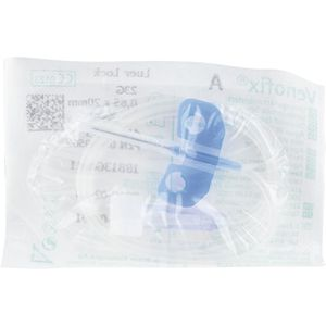 VENOFIX A Venenpunktionsbest.23 G 0,65 mm blau