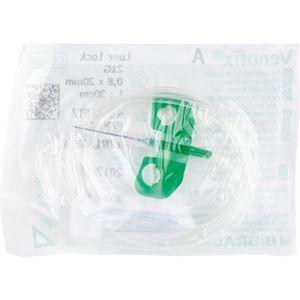 VENOFIX A Venenpunktionsbest.21 G 0,8 mm grün