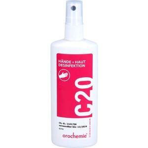 ORO C20 Hände- und Hautdesinfektion Sprühflasche