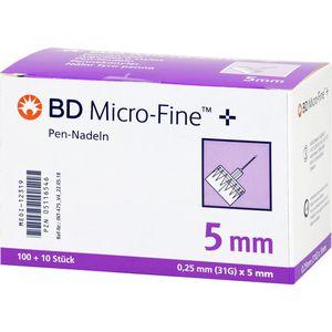 BD MICRO-FINE+ 5 Pen-Nadeln 0,25x5x110 mm