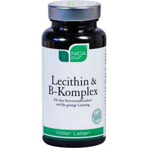 NICAPUR Lecithin B Komplex Kapseln