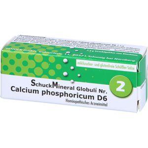 SCHUCKMINERAL Globuli 2 Calcium phosphoricum D 6
