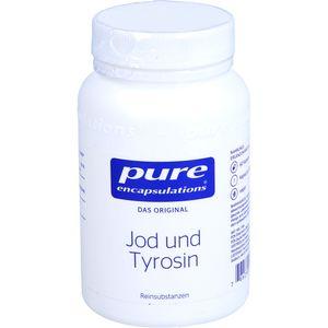 PURE ENCAPSULATIONS Jod und Tyrosin Kapseln