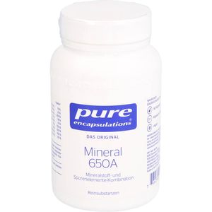 PURE ENCAPSULATIONS Mineral 650A Kapseln