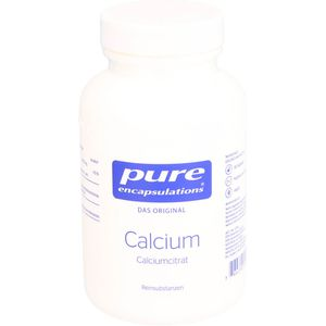 PURE ENCAPSULATIONS Calcium Calciumcitrat Kapseln