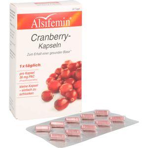 CRANBERRY 36 mg PAC Alsifemin Kapseln