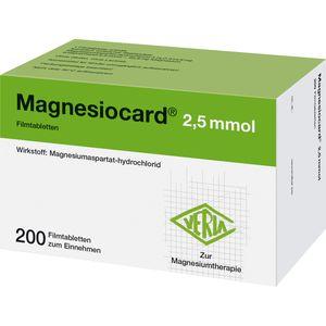 MAGNESIOCARD 2,5 mmol Filmtabletten