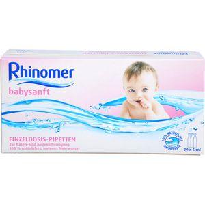 RHINOMER babysanft Meerwasser 5ml Einzeldosispip.