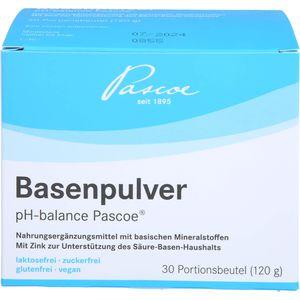 BASENPULVER pH balance Pascoe