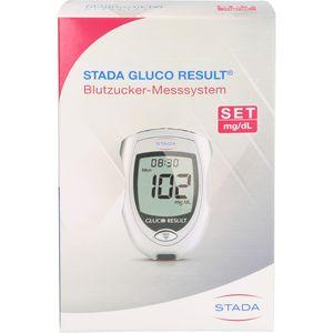 STADA Gluco Result Blutzuckermessgerät mg/dl