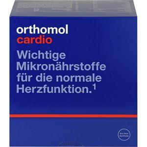 ORTHOMOL Cardio Granulat/Kaps./Tabl.Kombipack.