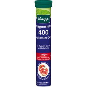 KNEIPP Magnesium 400+C+E Brausetabletten