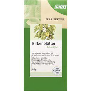 BIRKENBLÄTTER Tee Bio Betulae folium Salus