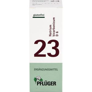 BIOCHEMIE Pflüger 23 Natrium bicarbonicum D 6 Tab.
