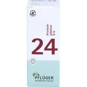 BIOCHEMIE Pflüger 24 Arsenum jodatum D 6 Tabletten