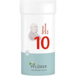 BIOCHEMIE Pflüger 10 Natrium sulfuricum D 6 Pulver