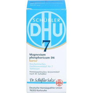 BIOCHEMIE DHU 7 Magnesium phosphoricum D 6 Tab.Ka.