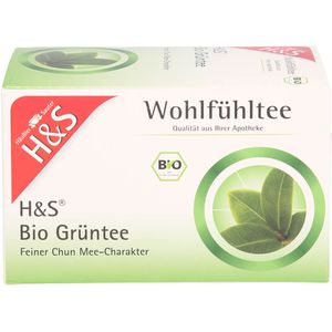H&S Bio Grüntee Filterbeutel