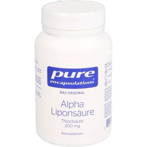 PURE ENCAPSULATIONS Alpha Liponsäure Kapseln