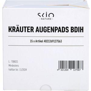 KRÄUTER AUGENPADS BDIH