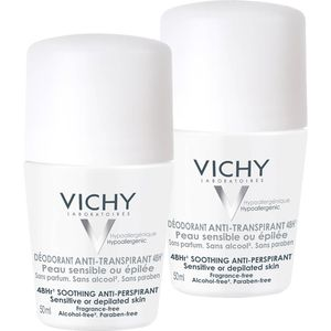 VICHY DEO Roll-on Sensitiv Anti Trans.48h Doppelp.