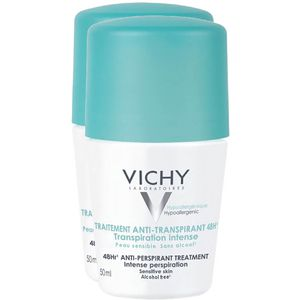 VICHY DEO Roll-on Anti Transpirant 48h Doppelpack