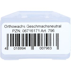 WACHS FÜR Zahnspangenträger