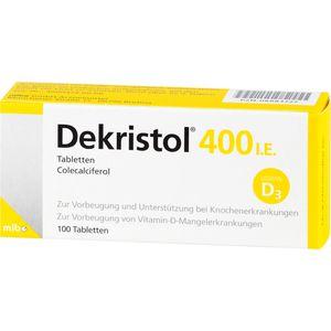 DEKRISTOL 400 I.E. Tabletten