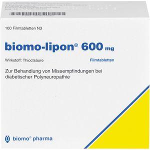 BIOMO-lipon 600 mg Filmtabletten
