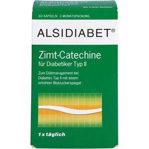 ALSIDIABET Zimt Catechine f.Diab.Typ II Kapseln