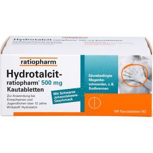 HYDROTALCIT-ratiopharm 500 mg Kautabletten
