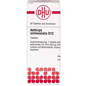 AETHIOPS ANTIMONIALIS D 12 Tabletten