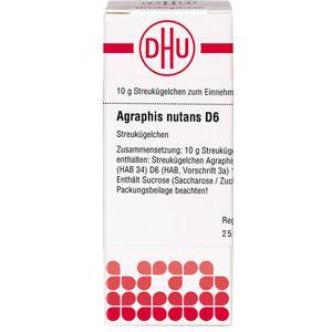 AGRAPHIS NUTANS D 6 Globuli