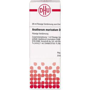 ANATHERUM muricatum D 10 Dilution