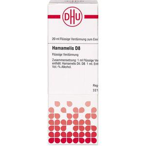 HAMAMELIS D 8 Dilution
