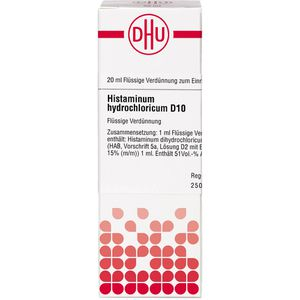 HISTAMINUM hydrochloricum D 10 Dilution