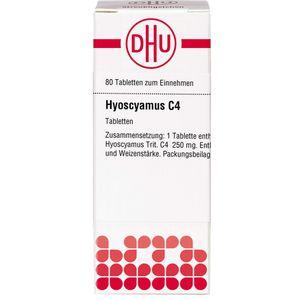 HYOSCYAMUS C 4 Tabletten