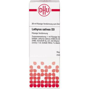 LATHYRUS SATIVUS D 3 Dilution