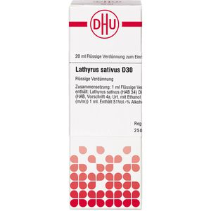 LATHYRUS SATIVUS D 30 Dilution