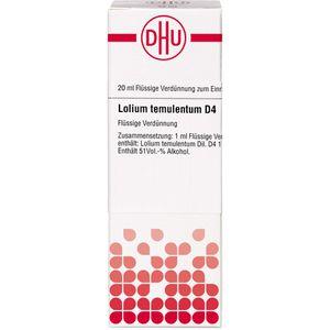 LOLIUM temulentum D 4 Dilution