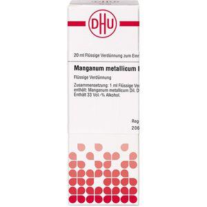 MANGANUM METALLICUM D 6 Dilution