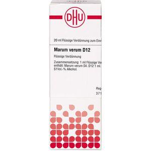 MARUM VERUM D 12 Dilution
