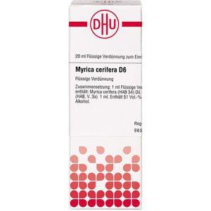 MYRICA cerifera D 6 Dilution